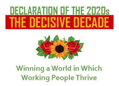 Declaration of the 2020s: The Decisive Decade